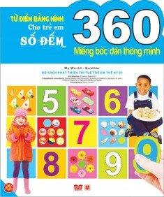 Từ điển bằng hình (T1): Số đếm - Hồng Việt