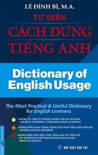 Từ điển cách dùng tiếng Anh