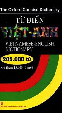 Từ Điển Việt - Anh 205.000 Từ