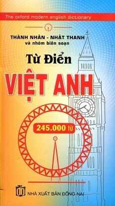Từ Điển Việt – Anh (245.000 Từ)