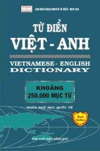 Từ điển Việt Anh (250.000 từ )