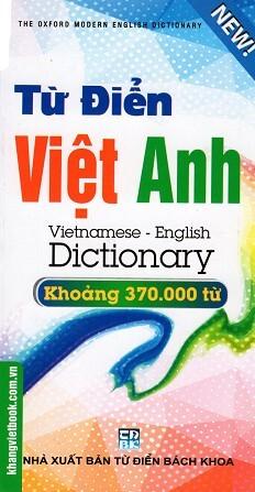 Từ Điển Việt – Anh 370.000 Từ