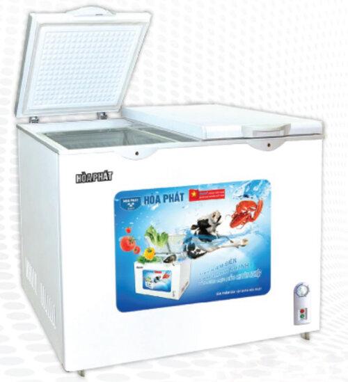 Tủ đông Hòa Phát HCF-505S2PĐ, 2 ngăn, 205 lít
