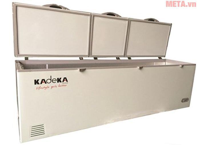Tủ đông Kadeka KCFV-1250SC, 3 cánh, 1220 lít