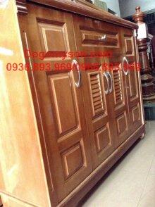 Tủ giầy gỗ xoan đào Hoàng Anh Gia Lai MS-26