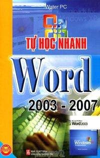Tự học nhanh Word 2003 - 2007 - Water PC