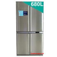 Tủ lạnh Electrolux EQE6807SD-NVN - 680 lít, 4 cửa