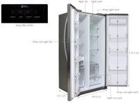 Tủ lạnh LG GR-B227GS, 524 lít