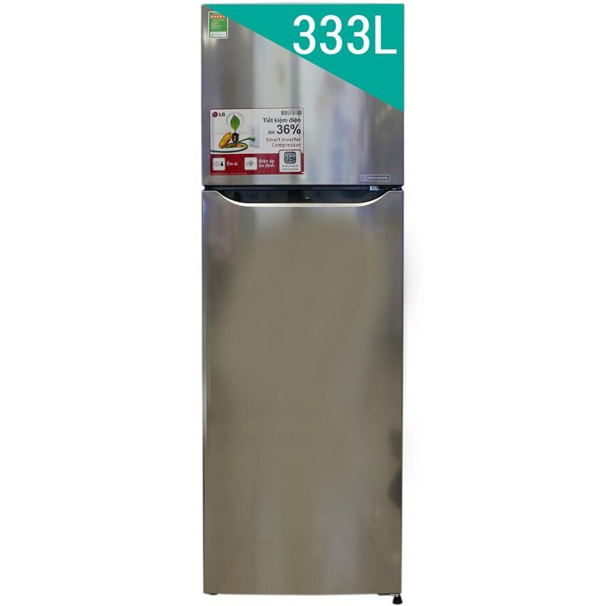 Tủ lạnh LG GR-L333PS - 2 cánh, 333 lít, Inverter