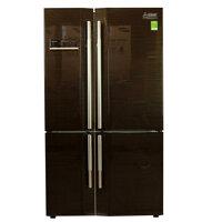 Tủ lạnh Mitsubishi Inverter MR-L72EH - 580 lít, 475kWh/năm, màu nâu/ bạc