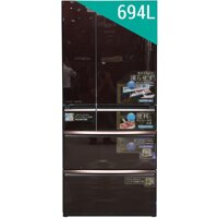 Tủ lạnh Mitsubishi MR-WX71YB-RV -  694 lít, 6 cửa