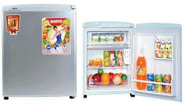 Tủ lạnh Sanyo SR-5KR-SS /MH/ SR/SH /SG/ MG - 50 lít, 1 cửa