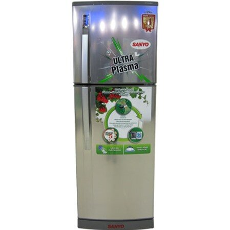 Tủ lạnh Sanyo SR-P205PN (SR-P205PNSS) - 205 lít, 2 cửa, Inverter