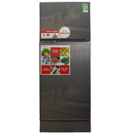 Tủ lạnh Sharp SJ-18VF2-BS - 180L, 2 cánh, ngăn đá trên