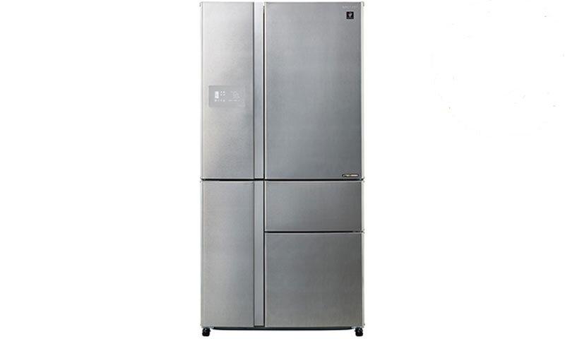 Tủ lạnh Sharp SJ-F5X76VW-SL - 768 lít, Inverter