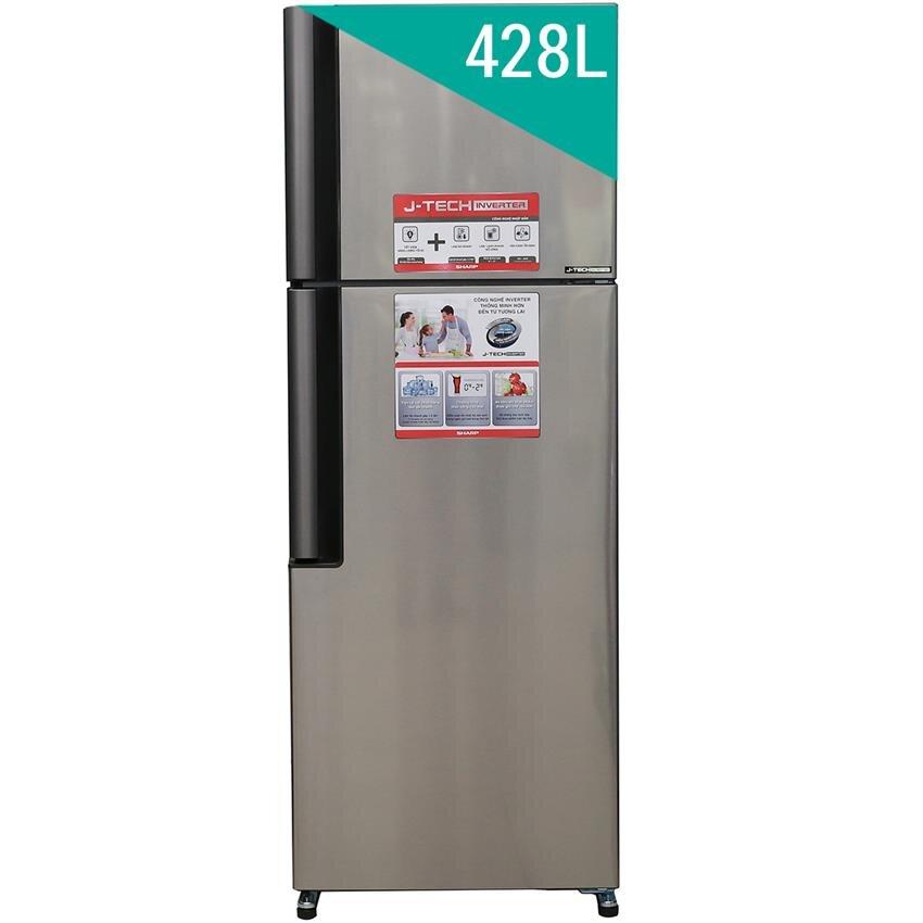 Tủ lạnh Sharp SJ-X430EM-SL/BK