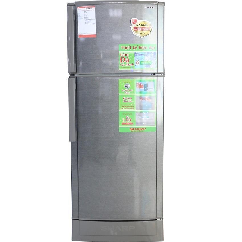Tủ lạnh Sharp SJ190SSL (SJ-190S-SL/ SJ190S) (BL/GR) - 180 lít, 2 cửa