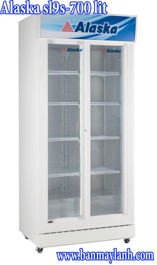 Tủ mát Alaska SL-9S - 900 lít, 2 cửa