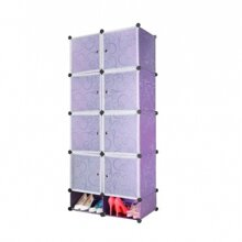Tủ nhựa đa năng 10 ngăn Tupper Cabinet TC-10PP-W