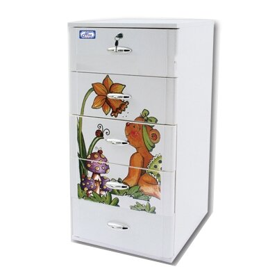 Tủ nhựa Đại Đồng Tiến Nice 5 ngăn T1002-5