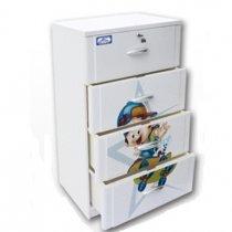 Tủ Nhựa Đại Đồng Tiến Nice T1002 (4 tầng)