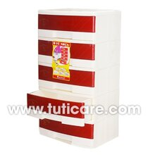 Tủ nhựa Đại Đồng Tiến T187-5 (5 ngăn, rộng 57cm)