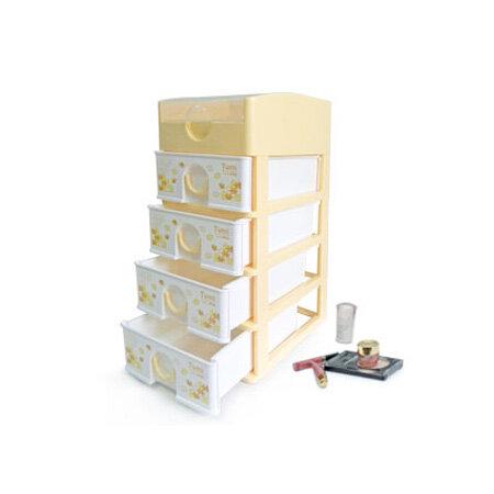 Tủ nhựa mini Tomi 5 ngăn trung - 18x26.5x44 cm