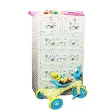 Tủ nhựa Việt Nhật Baby 5 tầng 6 ngăn (rộng 60cm)