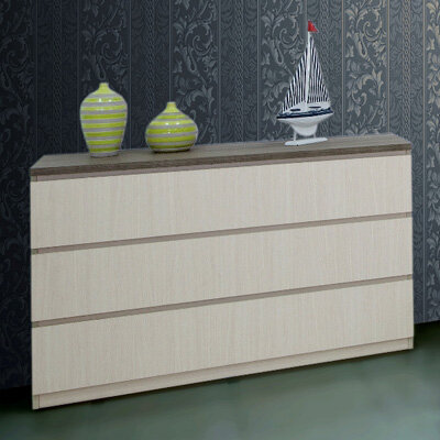 Tủ quần áo Home'Furni 3BI-PALOMA1-12