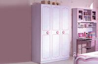 Tủ quần áo trẻ em công chúa cho bé gái BABY love - M816Q