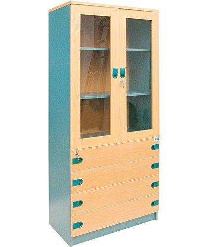 Tủ tài liệu gỗ Hòa Phát SV1960KG4D
