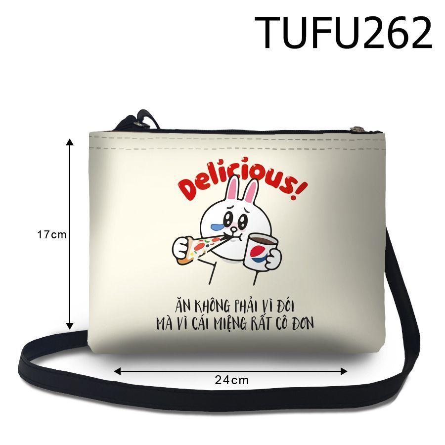 Túi đeo chéo Ăn không phải vì đói TUFU262