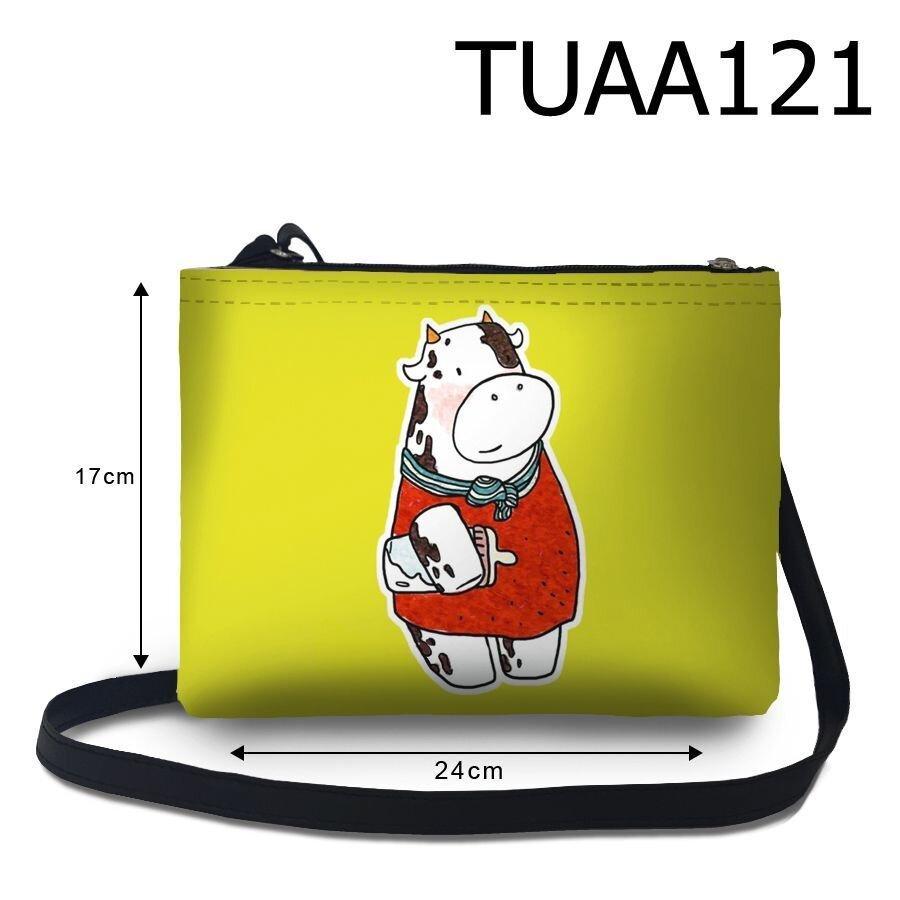 Túi đeo chéo Bò sữa ôm bình sữa TUAA121