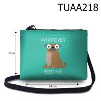Túi đeo chéo Chó mặt ngơ đòi ăn TUAA218