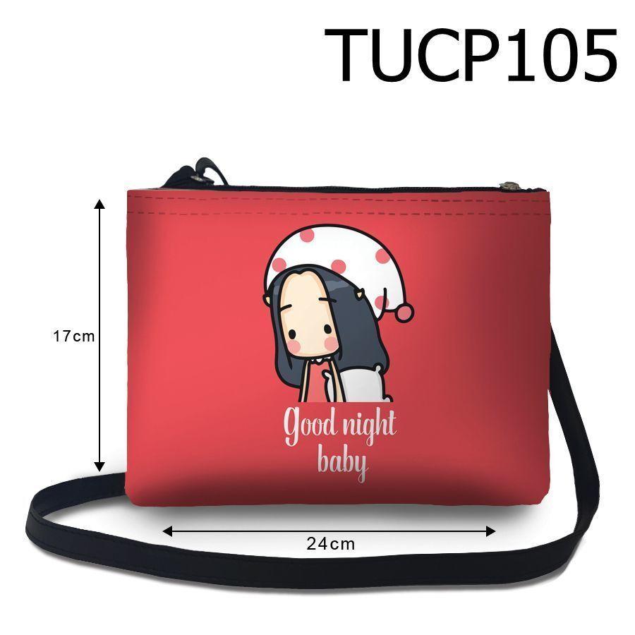 Túi đeo chéo Cô bé goodnight baby TUCP105