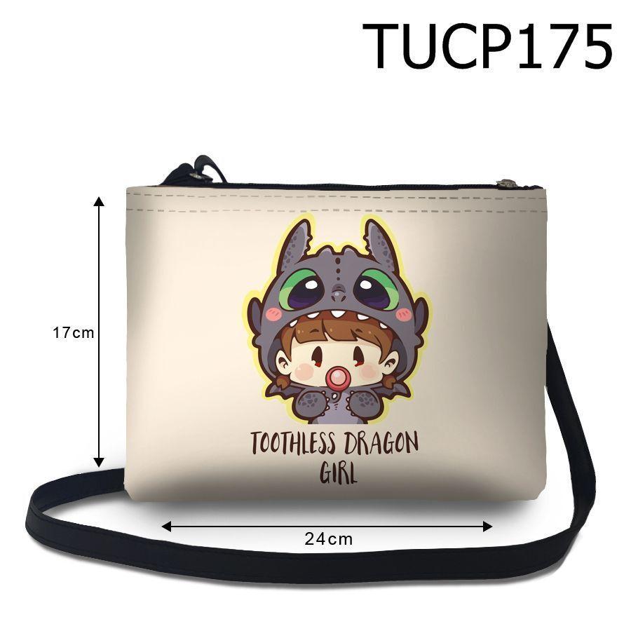 Túi đeo chéo Cô bé rồng răng sún TUCP175