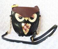 Túi đeo chéo hình chim cú mèo TX002