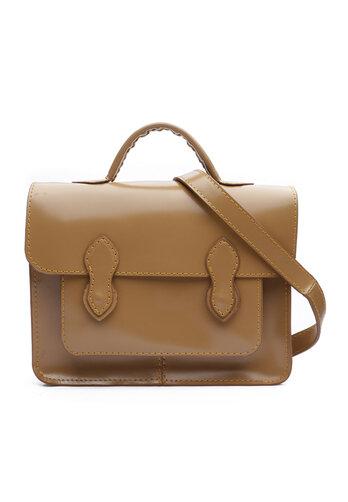 Túi đeo chéo màu nâu DaH2