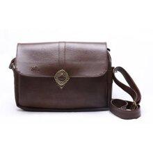 Túi đeo chéo nữ Yummy màu nâu-YHL01