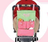 Túi đựng đồ treo đa năng, thành giường, cũi, xe đẩy Naforye N99277 (N99276)