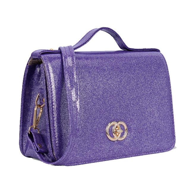 Túi hộp đeo chéo kim tuyến MS137