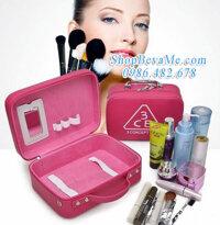 Túi hộp đựng mỹ phẩm đồ trang điểm khi đi du lịch
