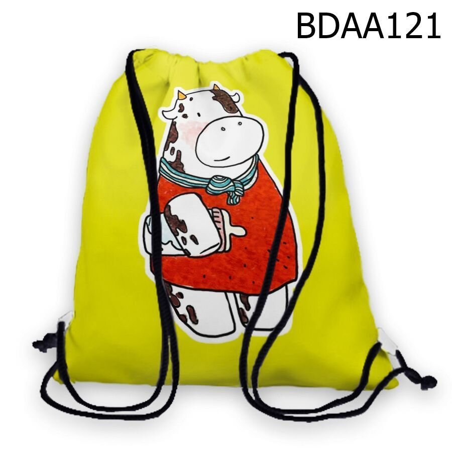Túi rút Bò sữa ôm bình sữa - BDAA121