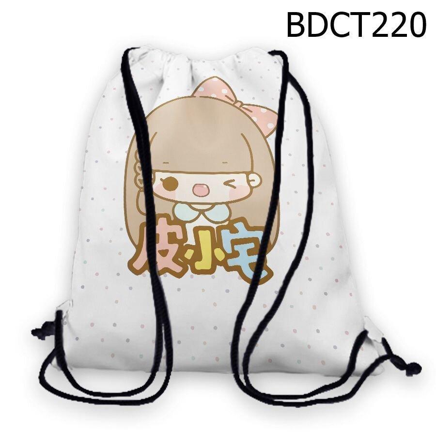 Túi rút Cô bé cài nơ - BDCT220