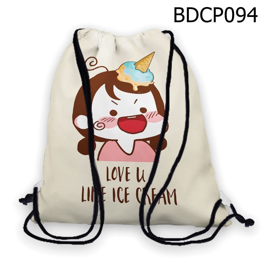 Túi rút Cô bé kem – BDCP094