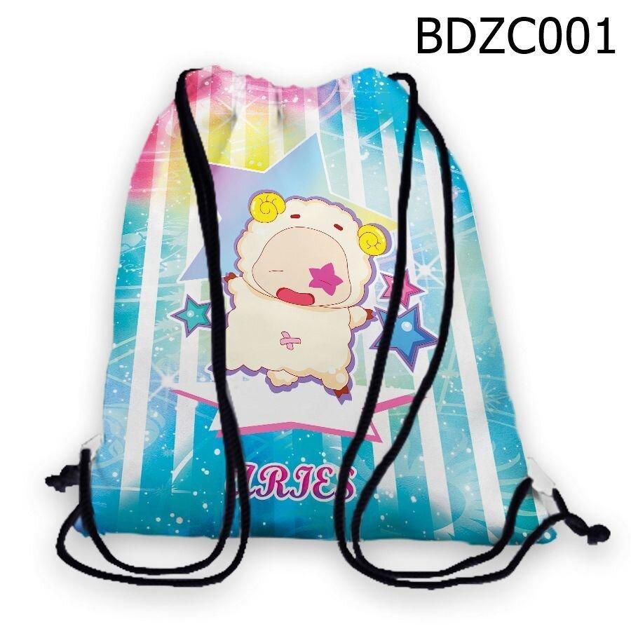 Túi rút Cung bạch dương chibi - BDZC001