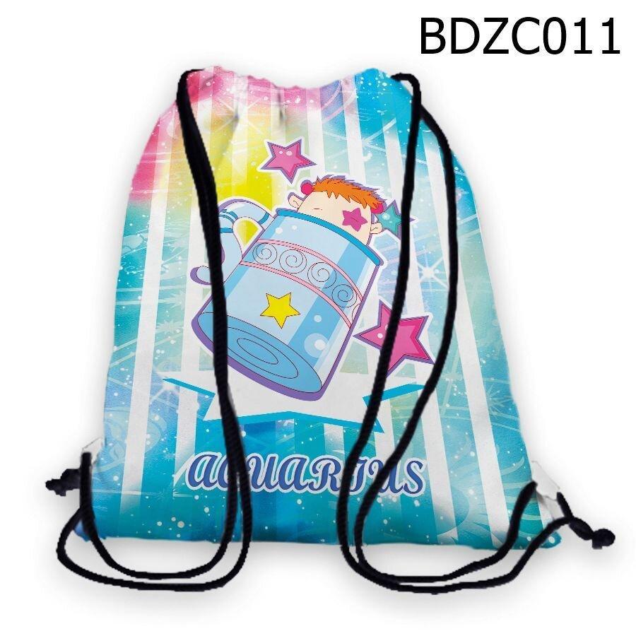 Túi rút Cung bảo bình chibi - BDZC011