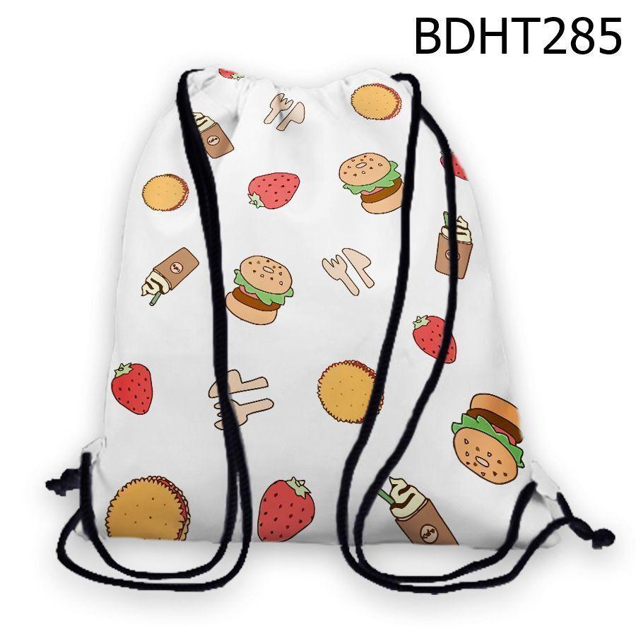 Túi rút hamburger và dâu tây – BDHT285
