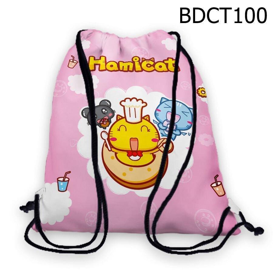 Túi rút Mèo Hamicat nấu ăn - BDCT100