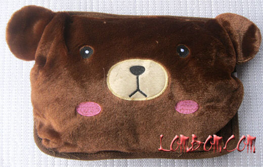 Túi sưởi gấu nâu